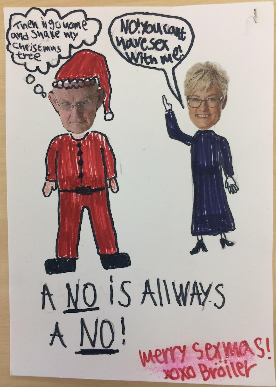A no is always a no!