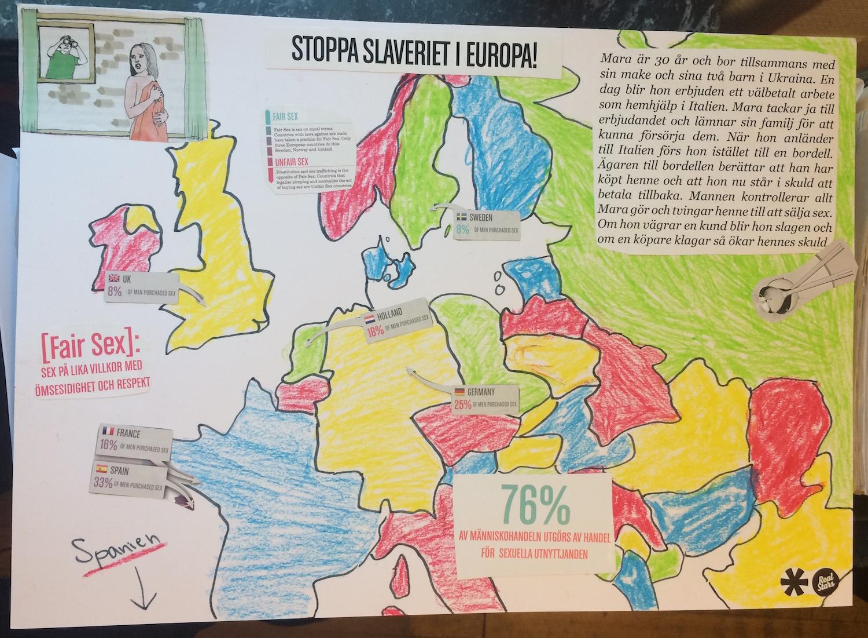 Stoppa slaveriet i Europa!