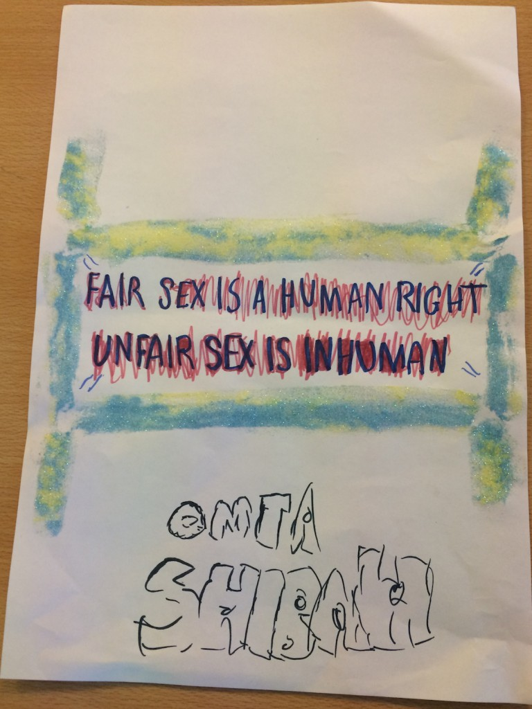 Fair Sex is a human right