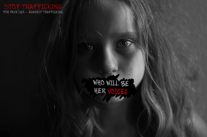 Trafficking creates silence bild av Kristina Bencze - Mediagymnasiet