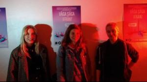 Våga Säga Ifrån - Affishkampanj skapad utav dessa  tre duktiga tjejer!